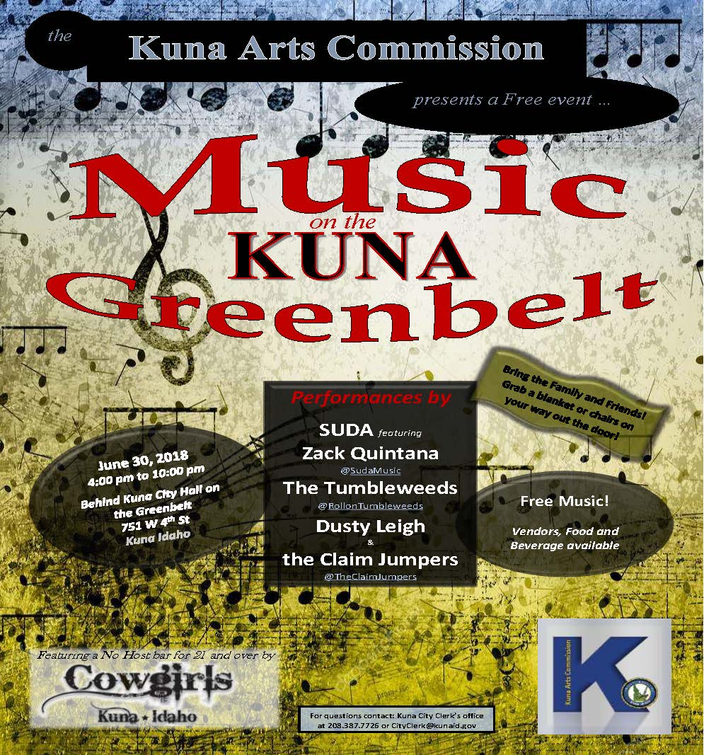 June 30 2018 Music on the Kuna Greenbelt_flyer.jpg