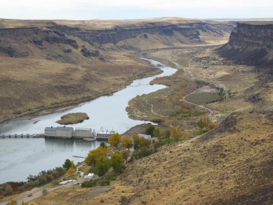 Snake River canyon overlook