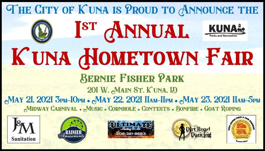 Kuna Hometown Fair Event Flyer - Facebook Event Cover Photo